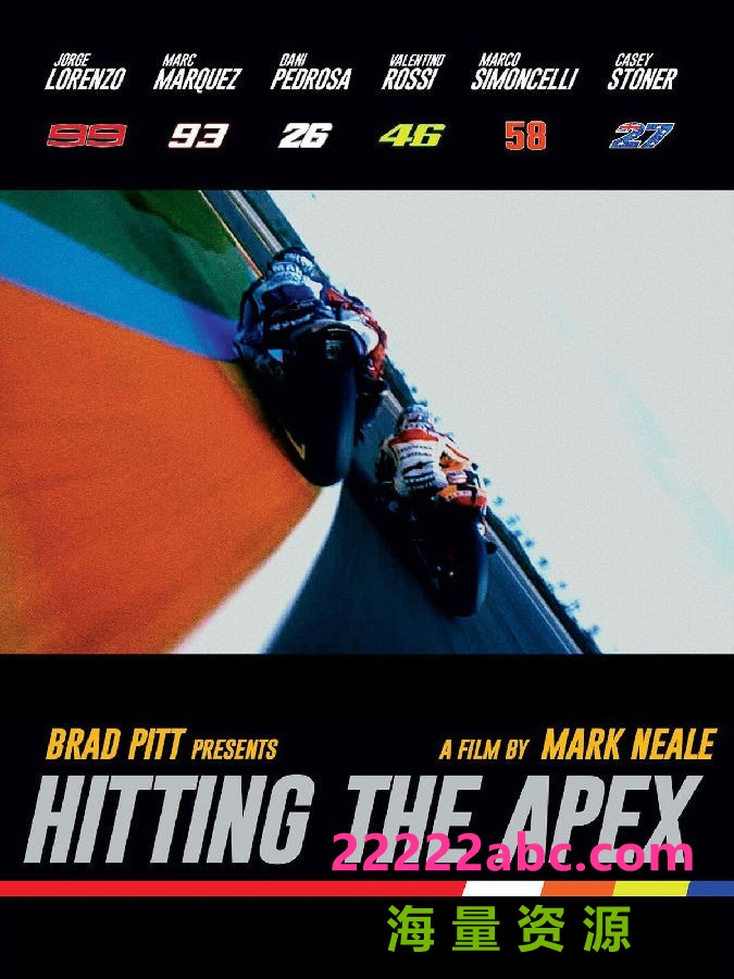 《直击弯心 Hitting The Apex》4k 1080p高清