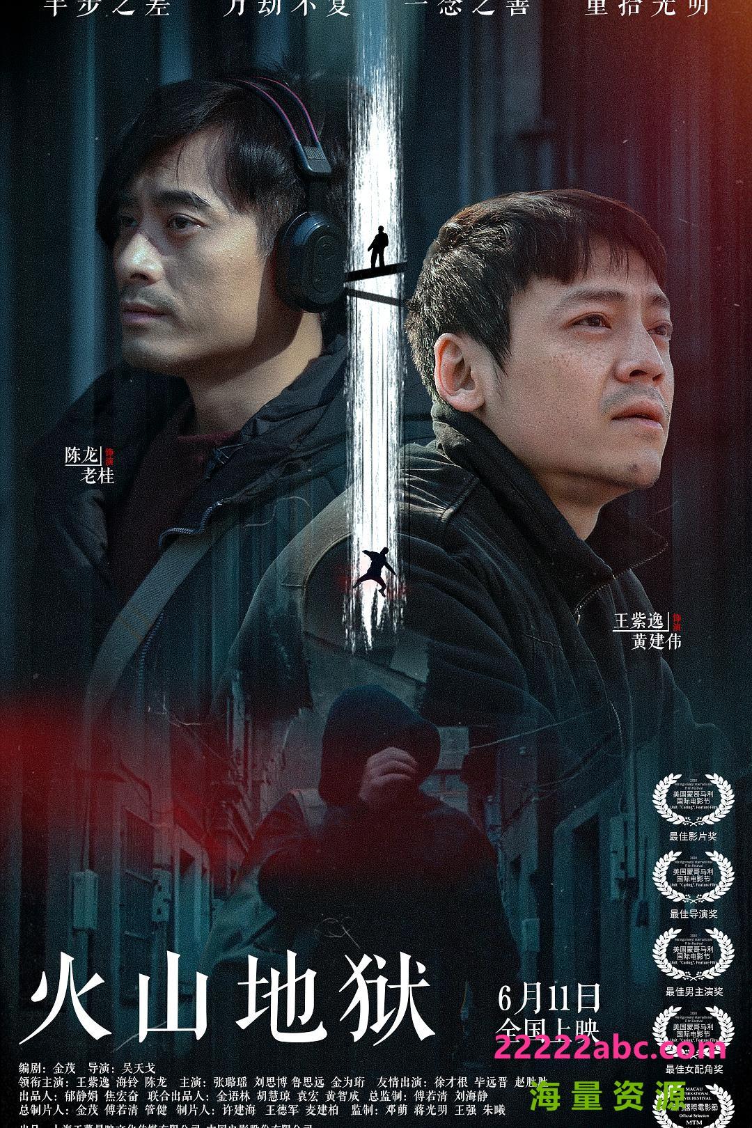 2021悬疑犯罪《火山地狱》HD4K.国语中字4K|1080P高清