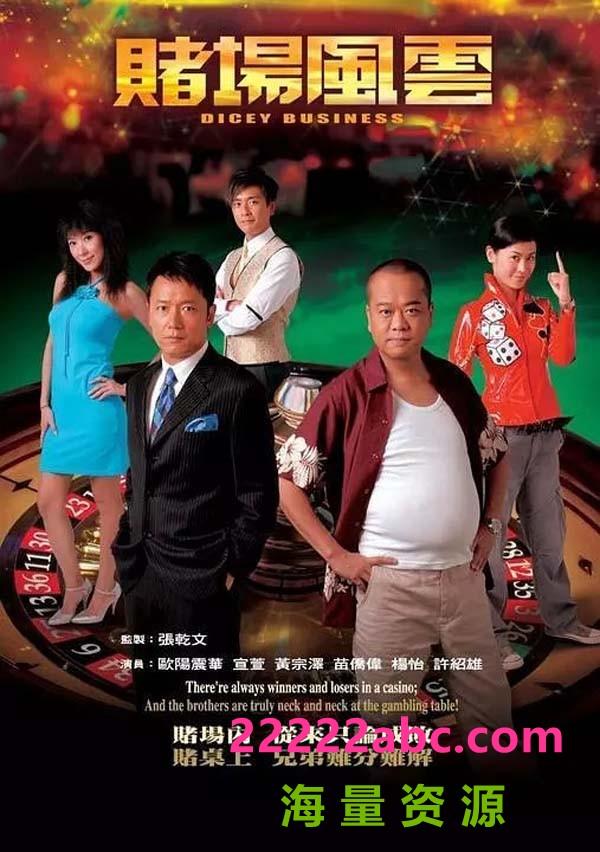 [TVB]【赌场风云】2006【MKV格式540P每集520M】【国粤双语中英字幕】4k|1080p高清