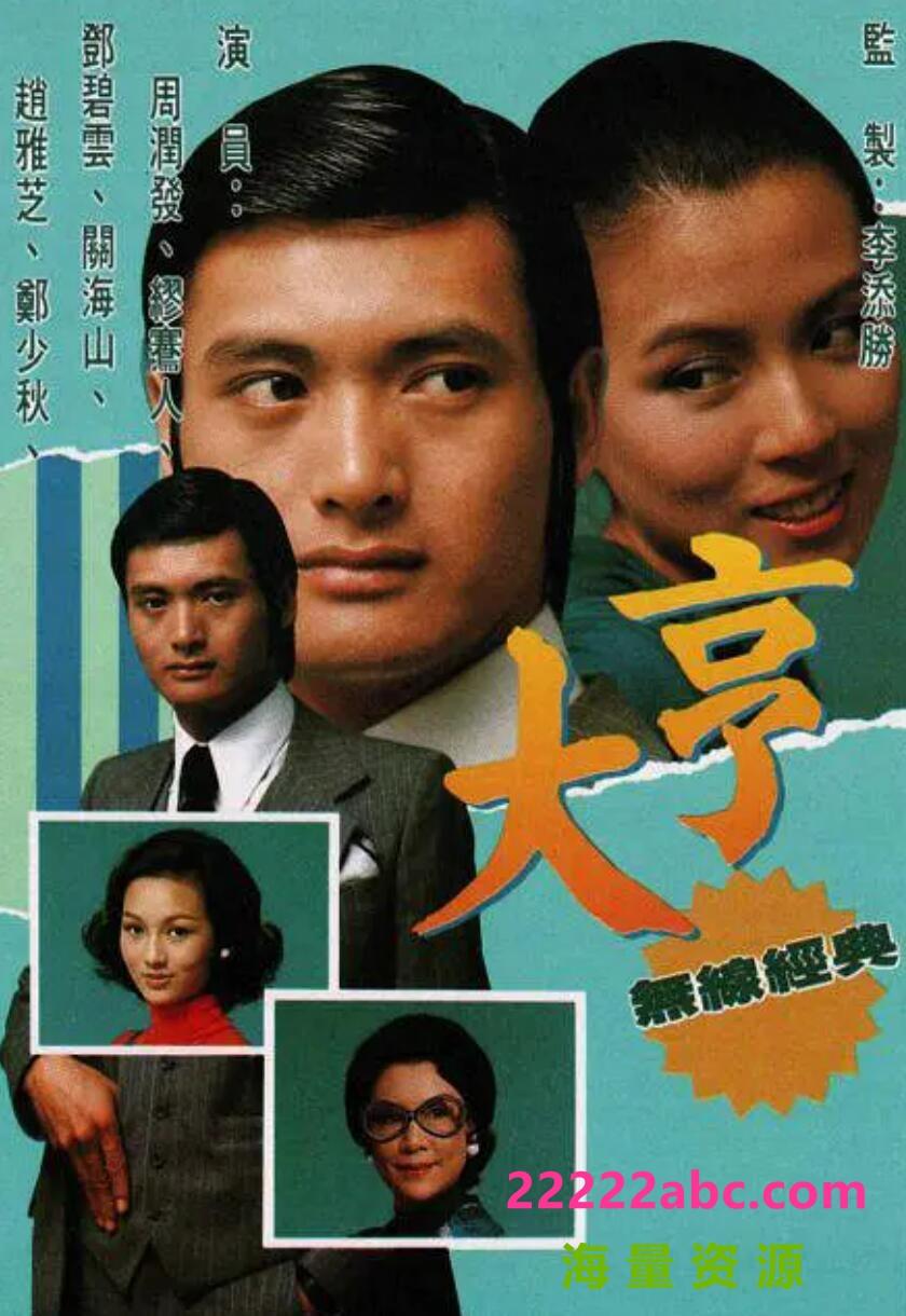 [香港/TVB/1978/大亨/GOTV源码/85集全/每集约700MB/粤语无字/ts/]4k 1080p高清