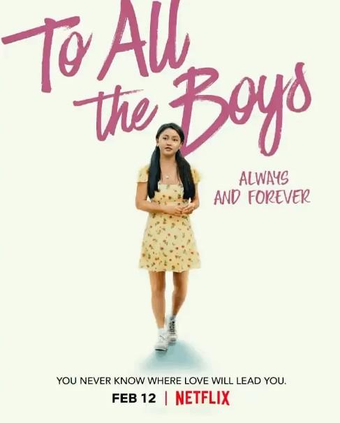 《致所有我曾爱过的男孩3》4K 1080P高清